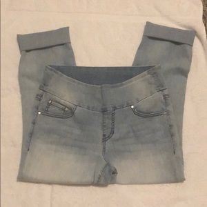 Jag jeans high rise slim ankle size 8